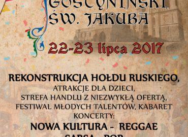 Jarmark Gostyniński św. Jakuba 22.07.2017