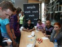 Rybnik EMPiK Focus Mall 19.06.2010 r. Spotkanie z fanami fot. Gazeta Rybnicka   Edyta Szymaszek-Górczyńska