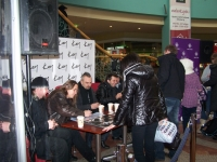 Warszawa, spotkanie w Centrum Handlowym WOLA PARK, 03.02.2012r., fot. Martyna Pigulska